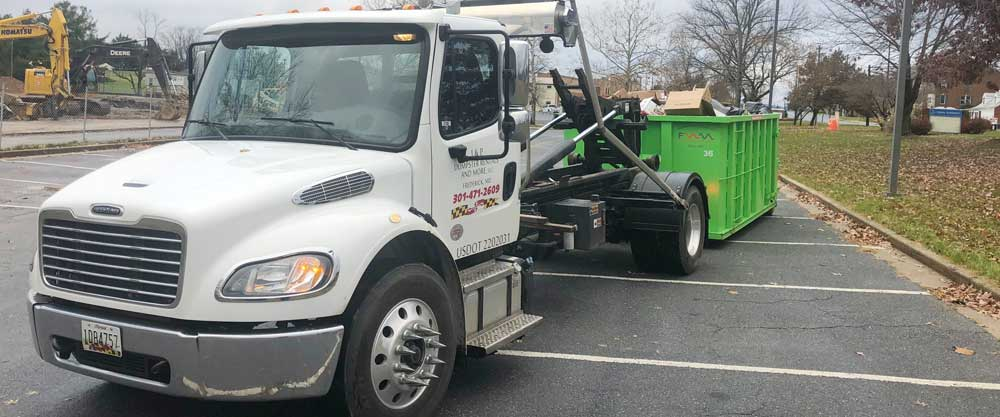 Mount Airy MD Dumpster Rental