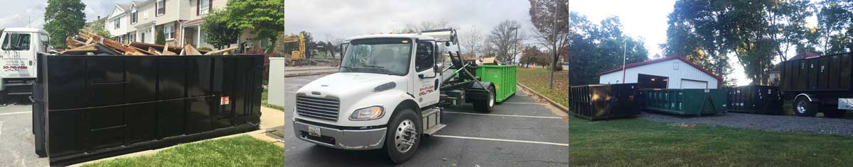 Dumpster Rental in Frederick MD from J&P