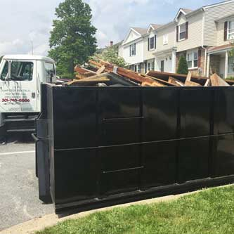 Dumpster Rental in Frederick MD from J&P Dumpster Rentals and More LLC
